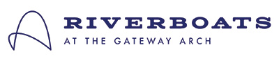 Riverboats at the Gateway Arch Logo