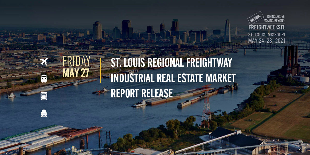 St. Louis Regional Freightway Industrial Real Estate Market Report Release cover