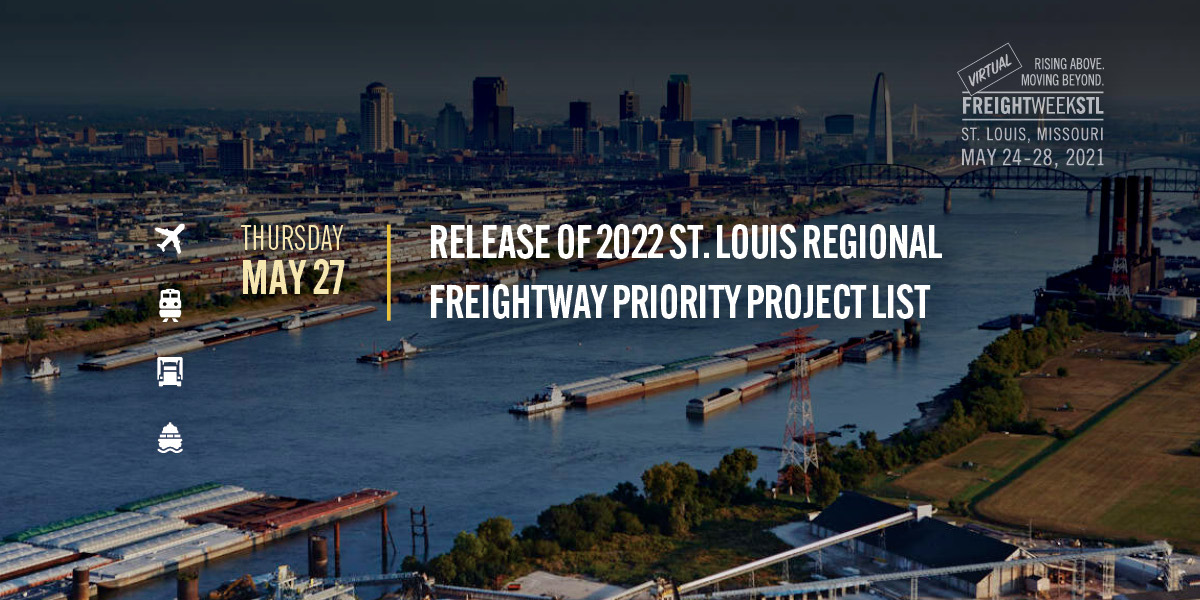 Release of 2022 St. Louis Regional Freightway Priority Project List cover image
